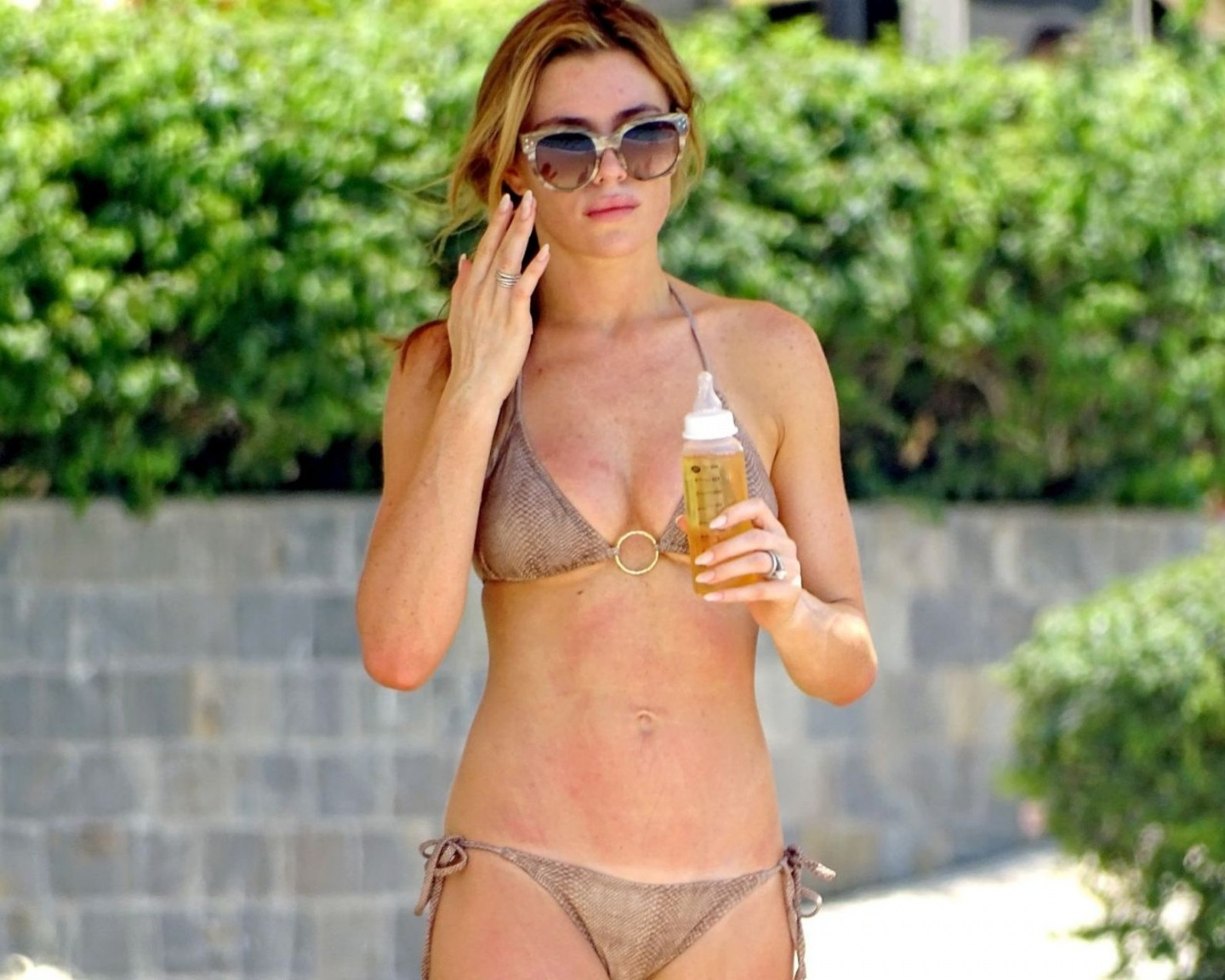 Abbey Clancy Hot In Bikini In Dubai Abbey Clancy