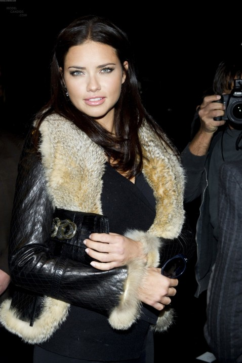 Adriana Lima Attends The Donna Karan Show During Fashion Week In New York Feb Adriana Lima Adriana Lima