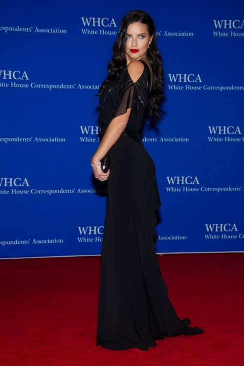 Adriana Lima White House