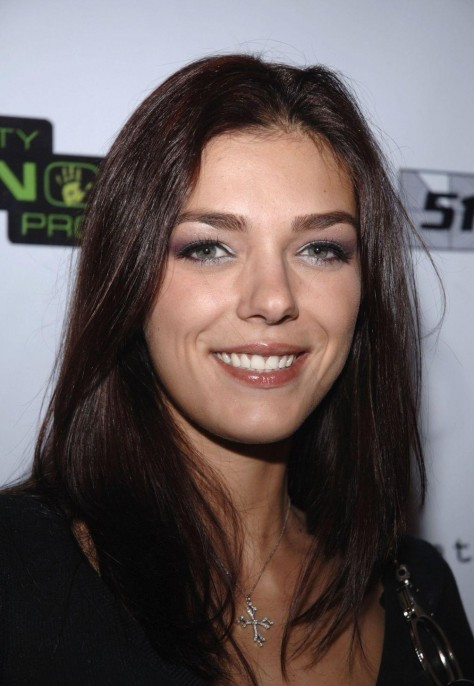 Adrianne Curry Black Shirt Jeans Black Boots Adrianne Curry Launch Party Vh Celebrity Paranormal Project Fc Ea Add Big
