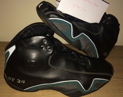Air Jordan Xx Ray Allen Black Sonics Pe