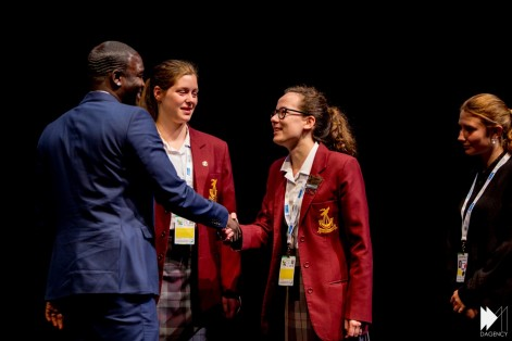 Akon Engaging The Youth On Sustainability Student Exclusive Adsw Akon