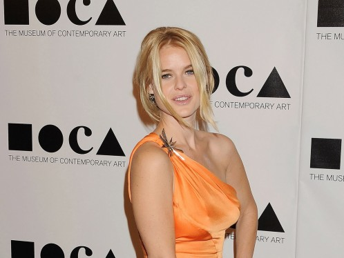 Alice Eve At Moca Gala Eyes