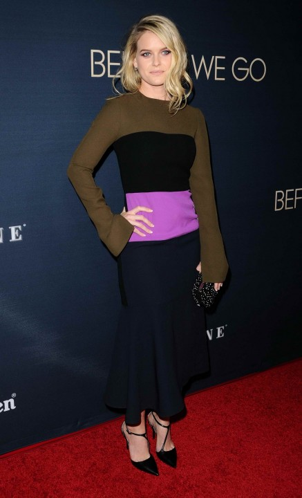 Alice Eve Attends Before We Go Premiere In Hollywood