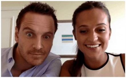 Alicia Vikander And Michael Fassbender Discuss Relationship While Promoting New Film Alicia Vikander