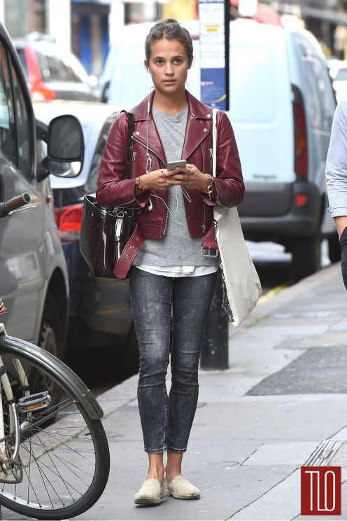 Alicia Vikander Gots London Street Style Ljbj Louis Vuitton Tom Lorenzo Site Tlo Alicia Vikander