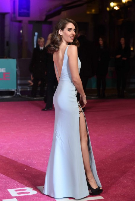 Alison Brie At How To Be Single Premiere In London Alison Brie
