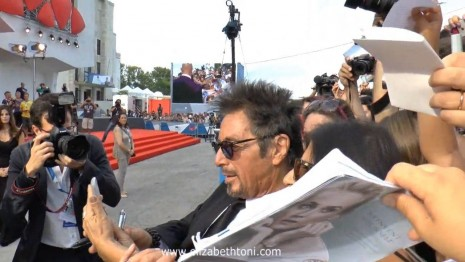 Al Pacino At Manglehorn Premiere