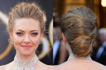 Beauty Celebrity Beauty Amanda Seyfried Oscars Hair Hair