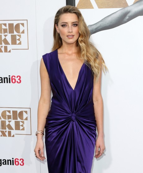 Amber Heard Magic Mike Xxl Premiere In La