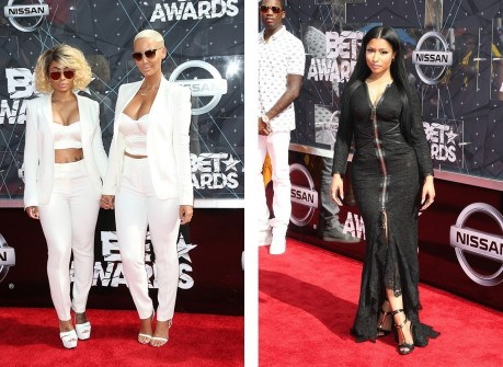 Bet Awards Meek Nicki Minaj Blac Chyna Amber Rose
