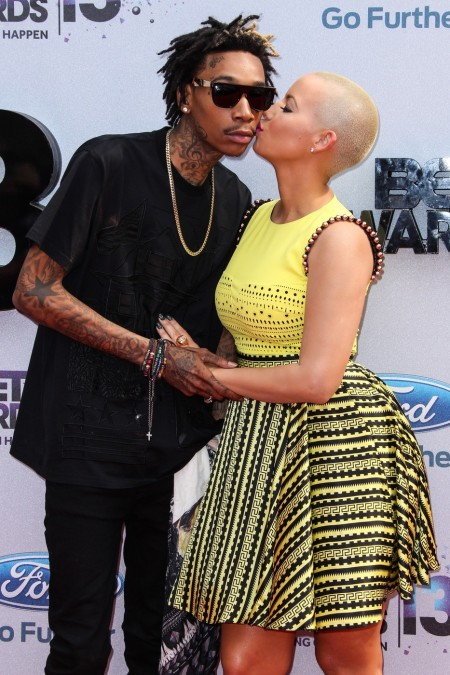 Wiz Khalifa And Amber Rose Bet And Wiz Khalifa