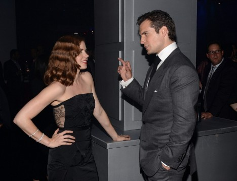 Henry Cavill Amy Adams Mos After Party