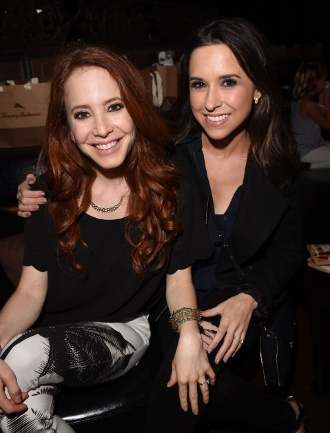 Lacey Chabert And Amy Davidson Seen As They Ariving At The Taylor Swift Concert In Los Angeles Yoga