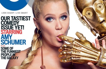 Amy Schumer Gq Cover Star Wars