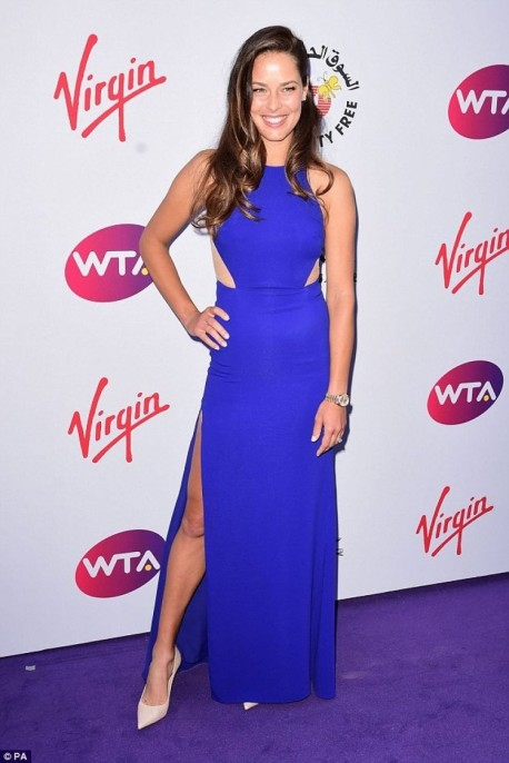 Ana Ivanovic Attends The Wta Pre Wimbledon Party In London
