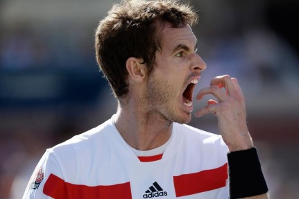Andy Murray Angry