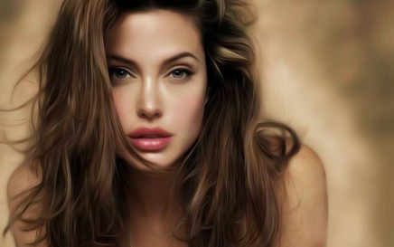 Angelina Jolie Beauty Full Hd Wallpaper Body