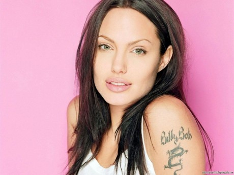 Angelina Jolie Tattoos Removed Wallpaper Angelina Jolie