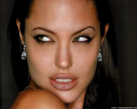 Angelina Jolie Watching Dengerously Celebrity Wallpapers Hot