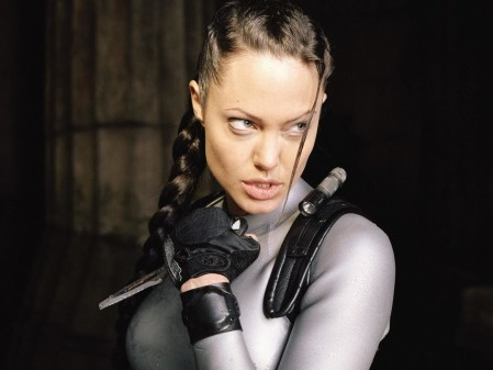 Celebrating Female Action Heroes Angelina Jolie Grrr Picture From The Second Movie In The Series Movies