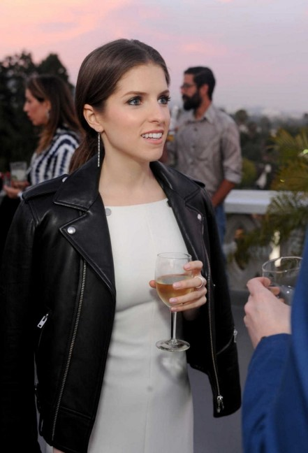 Anna Kendrick Attends The Dinner To Celebrate Glamour June Success Issue In Los Angeles