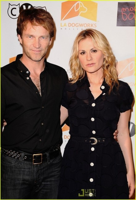 Anna And Stephen Anna Paquin And Stephen Moyer And Stephen Moyer