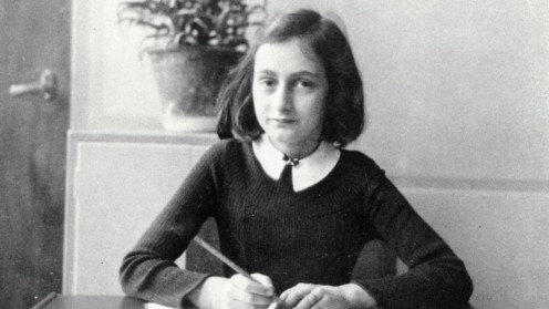 Anne Frank Vintage Photo Anne Frank The Whole Story