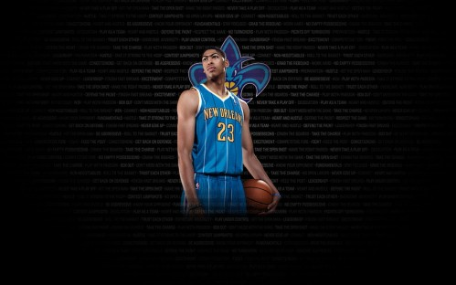 Black Backround Anthony Davis Wallpapers Wallpaper