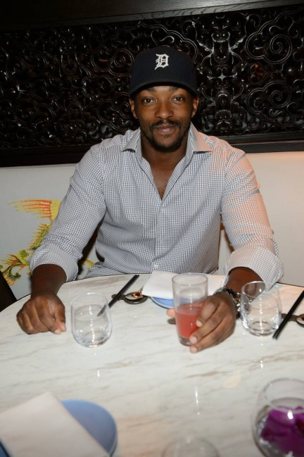 Anthony Mackie Hakkasan Las Vegas Restaurant Anthony Mackie