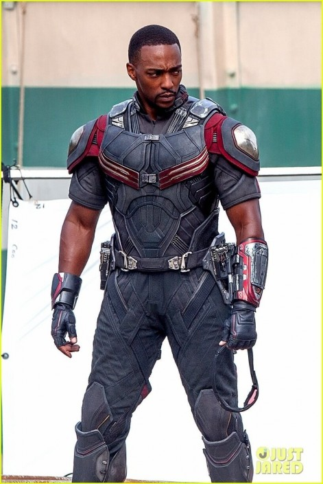 Chris Evans Anthony Mackie Get To Action Captain America Civil War