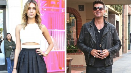 April Love Geary Mit Robin Thicke April Love Geary