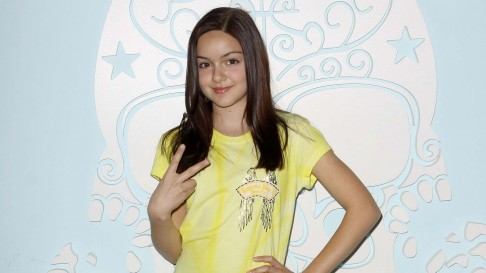 Ariel Winter Showing Victeory Sign Wallpaper