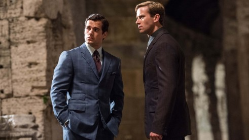 Henry Cavill Armie Hammer In The Man From Uncle Wallpaper Wallpaper