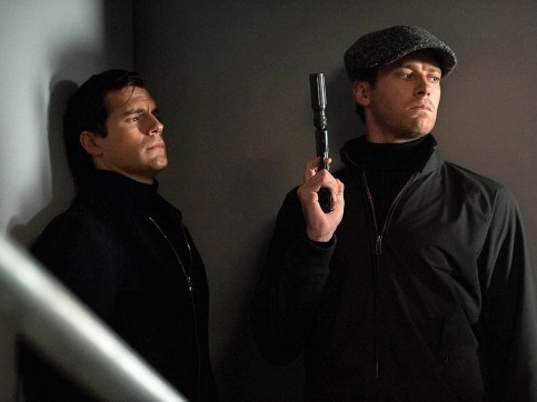 The Man From Uncle Henry Cavill Armie Hammer Social Network