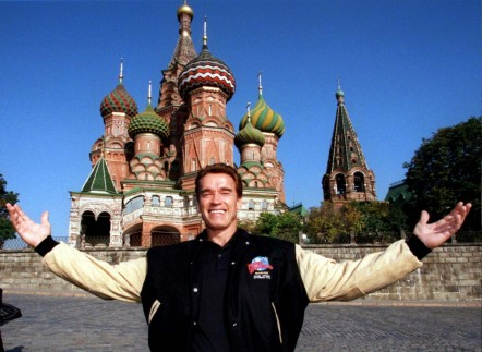 Arnold In Russia Now