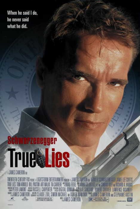 True Lies One Sheet Movie Poster Films