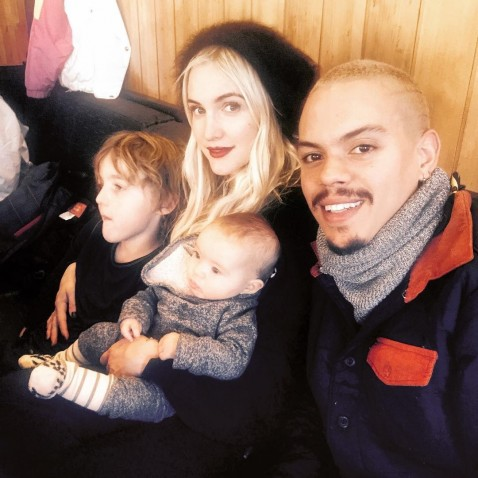 As Ee Simpson Evan Ross Family Ski Trip Aspen Instagram As Ee Simpson