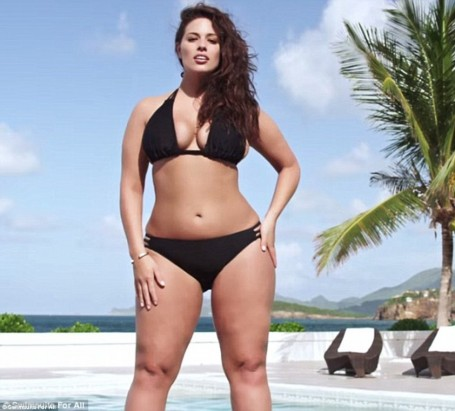 Cdb As Ey Graham In New Swimsuit Advert For Evans Plus Size Model