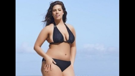 Plus Sized Model As Ey Graham Rocks Tiny Bikini In Ycspor Ver As Ey Graham