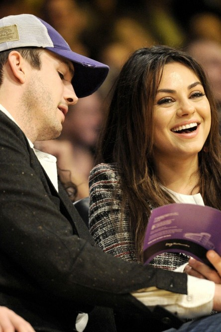 Ashton Kutcher And Mila Kunis Ashton Kutcher