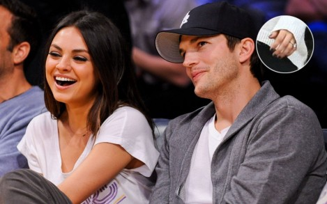 Mila Kunis Ashton Kutcher Engaged Slideshow Ashton Kutcher