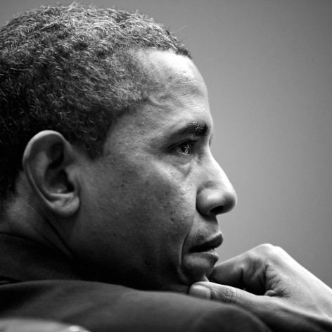 Barack Obama In Black And White Wallpaper For Iphone Plus Wallpaper