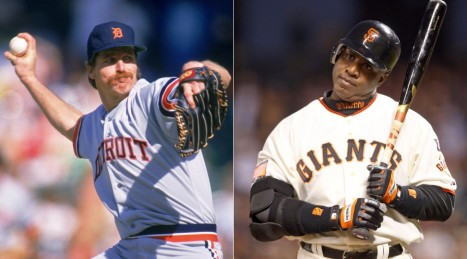 Jack Morris Barry Bonds Ud Nfmr Barry Bonds