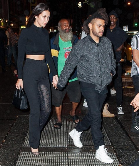 Bella Hadid The Weeknd The Weeknd