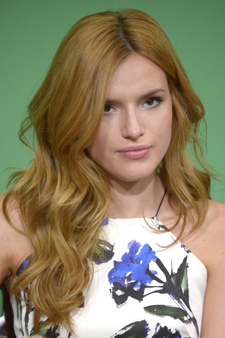 Bella Thorne Guesting At Fox Good Day New York And Taylor Lautner Kissing