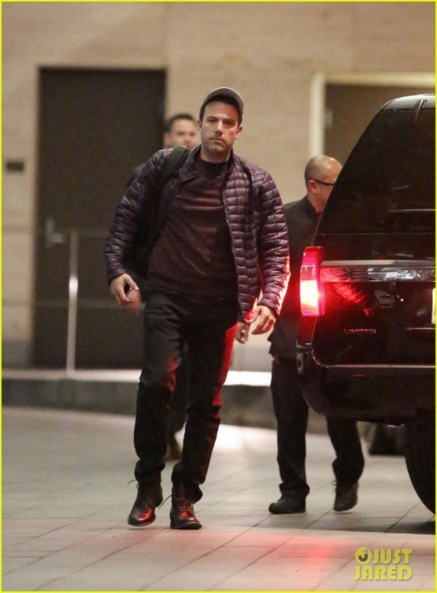 Ben Affleck Spotted On Suicide Squad Set In Toronto