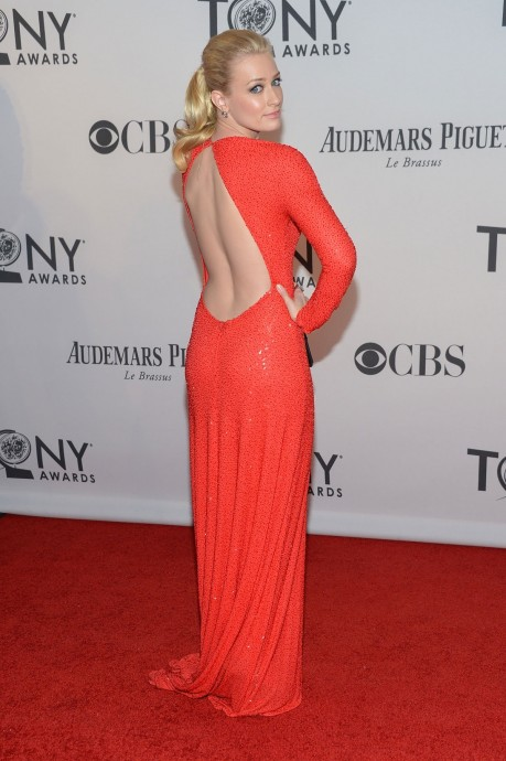 Beth Behrs At Th Annual Tony Awards In New York Beth Behrs