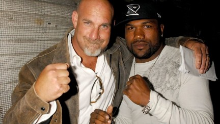 Ufc Bill Goldberg And Quinton Jackson Ahn Pivresize High Bill Goldberg