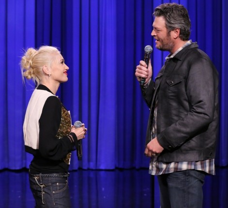 Blake Shelton Gwen Stefani The Voice Blake Shelton